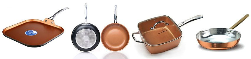 how to clean copper ceramic pans