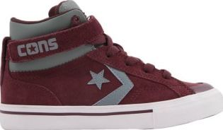 Converse Suede Strap trainers Burgundy Fabrics : Suede Leather Details : Laces, Velcro This model is on the large side, we advise you to take a size below your usual size. http://www.comparestoreprices.co.uk/january-2017-7/converse-suede-strap-trainers-burgundy.asp