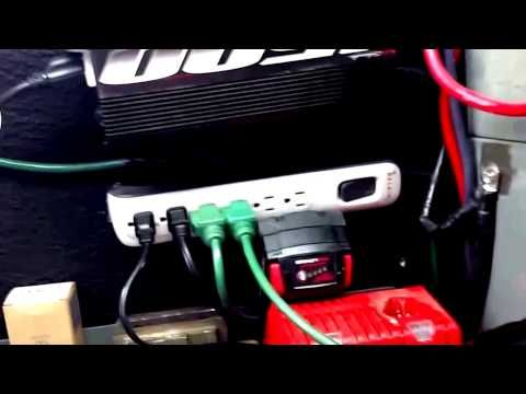 How To Install A Power Inverter In Your Work Vehicle Truck Van Or Car Youtube Work Truck Organization Work Truck Storage Truck Organization