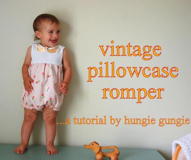 DIY Clothes DIY Refashion  DIY  Pillowcase Romper