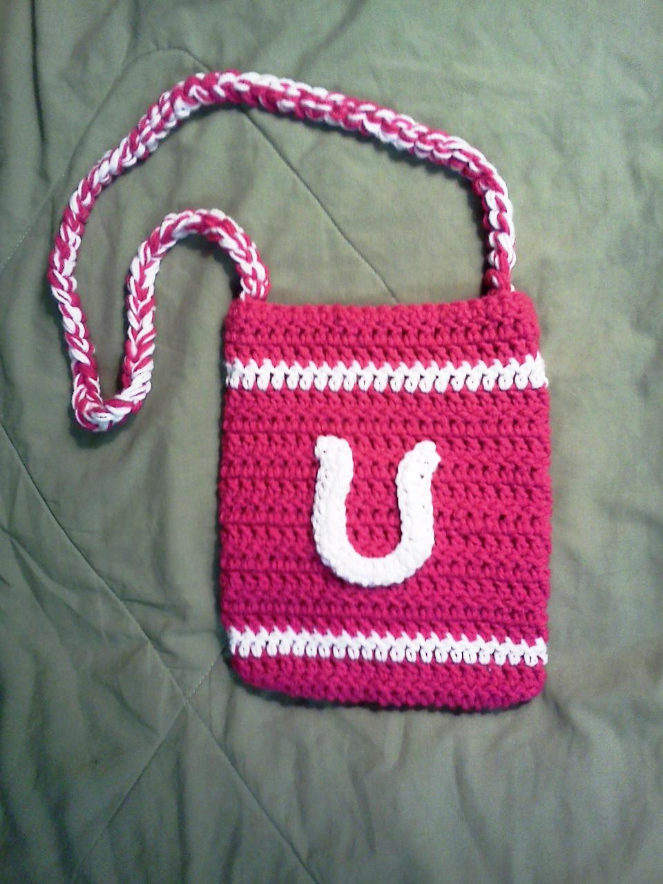 Indianapolis Colts Crochet Purse