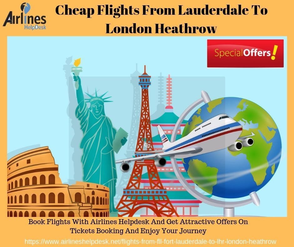 Cheap Flights Ft Lauderdale to London Heathrow (With