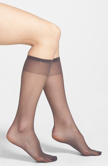 375b7311c3f Women s Nordstrom Sheer Knee High Socks