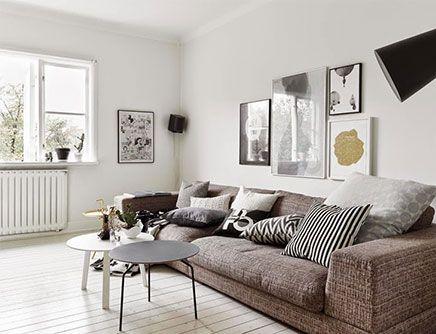 Inrichting van een Scandinavische woonkamer | Interiors | Pinterest ...