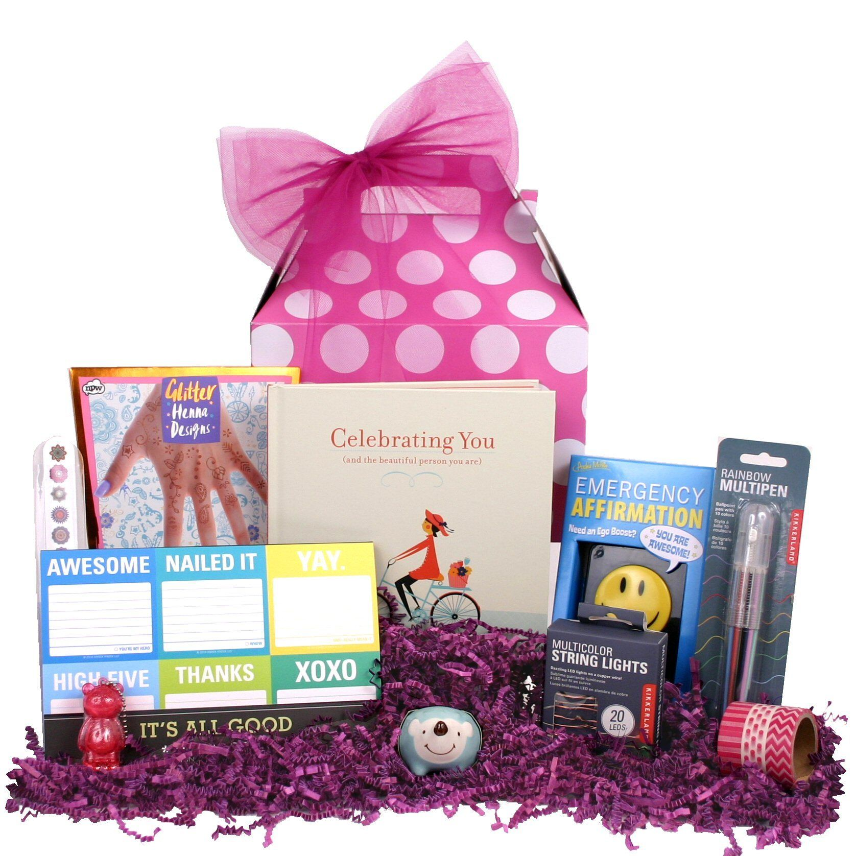 Celebrate Her On Birthday Or Send This Fun Gift Pack To Say Congratulations Great Job Simply Im Thinking Of You