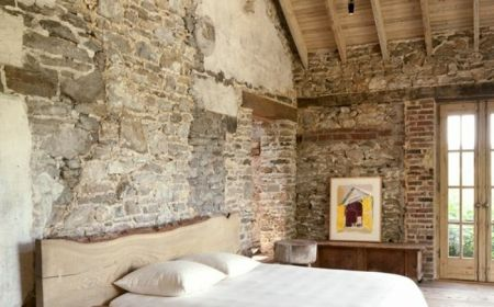 Le Mur En Pierre Apparente En 57 Photos Maison En Pierre Mur