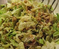 Chinakohlsalat mit Mie-Nudeln