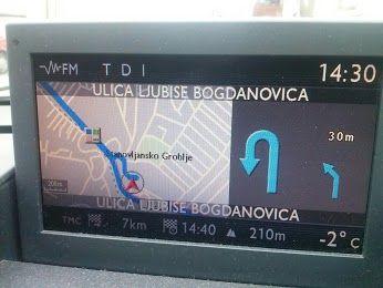 Nova Mapa Srbije Za Peugeot I Citroen Fabricke Navigacije Januar