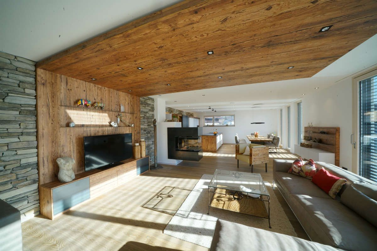 altholz-wohnzimmer  Altholz wohnzimmer, Wohn design, Modernes