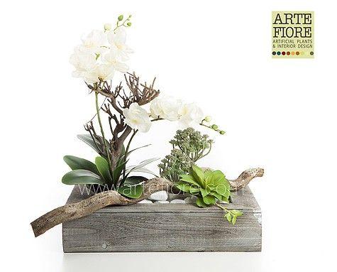 Bien aim composizione di fiori artificiali in tessuto for Composizioni fiori finti per arredamento
