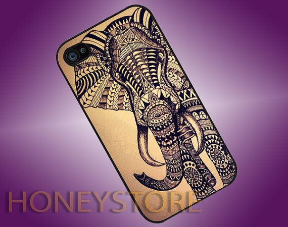 Aztec Elephant  Photo Print for iPhone 4/4s iPhone by HONEYSTORE, $14.80.etsy.com