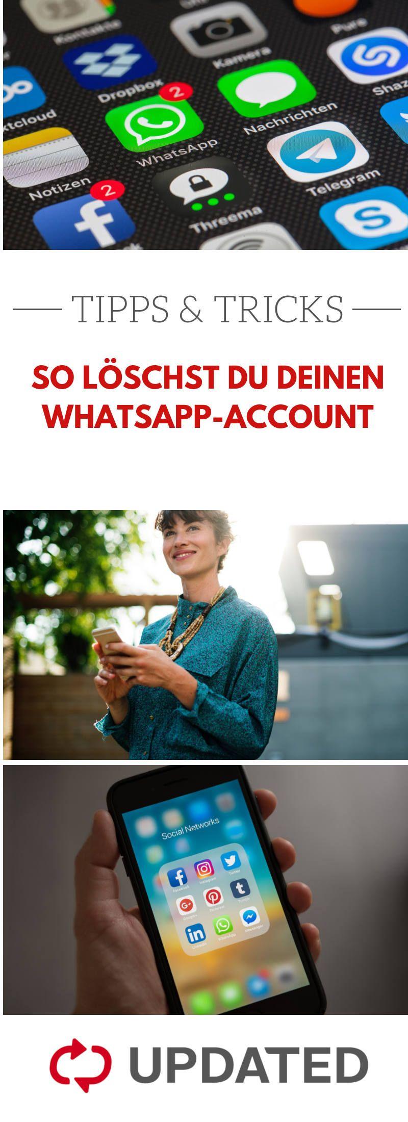 Du willst Whatsapp nicht länger nutzen? UPDATED erklärt