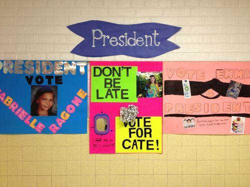 elementary vice president poster ideas - Google Search | Canadiy ...
