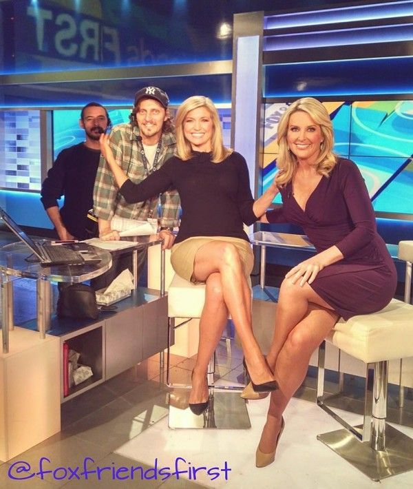 Ladies of fox and friends upskirts