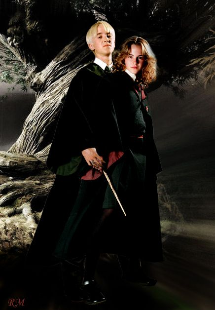 Yeah Dramione Draco Harry Potter Draco And Hermione