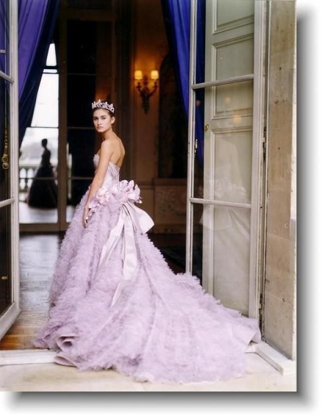 Luscious Purple Wedding Gown Photo Posted On Facebook By Grace