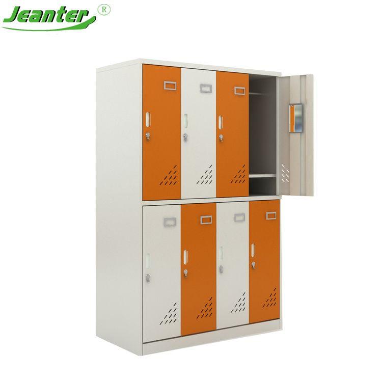 Hot Item Customized Metal Closets Cloth 2 Door College Storage Locker In 2020 Locker Storage Metal Storage Cabinets Storage