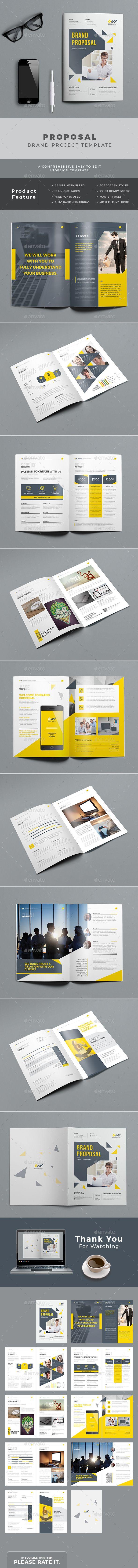 Proposal Template | Catálogo, De colores y Revistas
