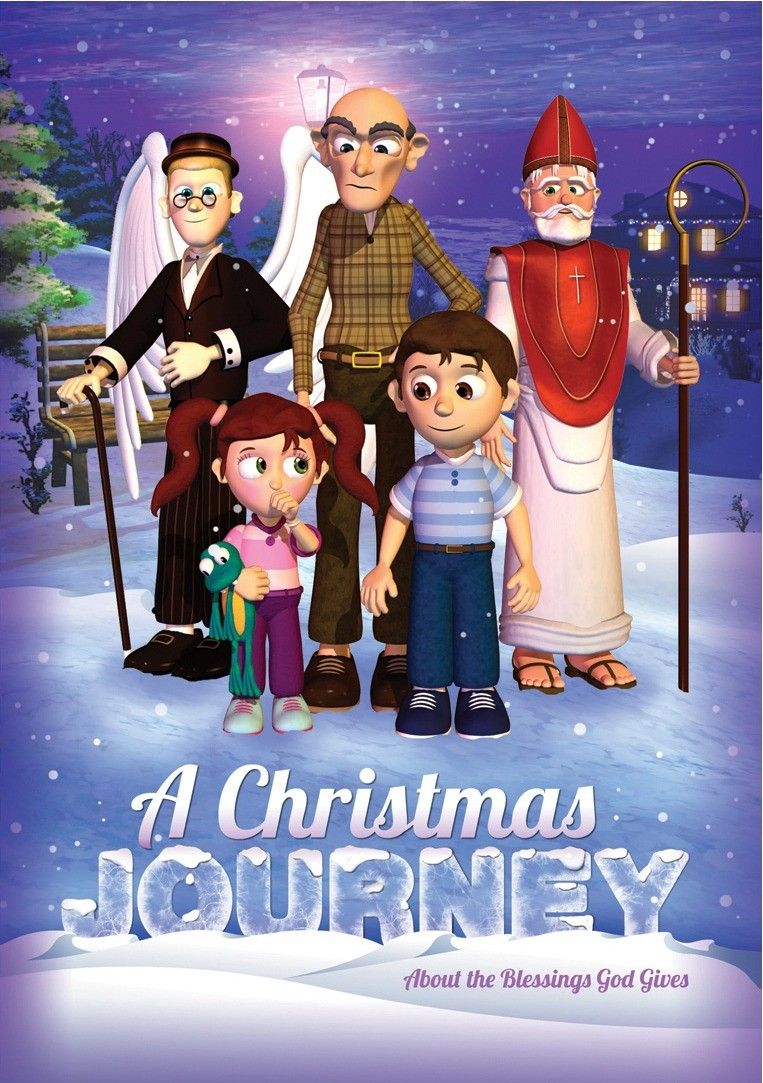 A Christmas Journey DVD - A friendly angel, a kind old saint and a ...