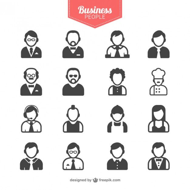 Download Business People Avatars For Free Business Icons Vector Business Icon People Icon