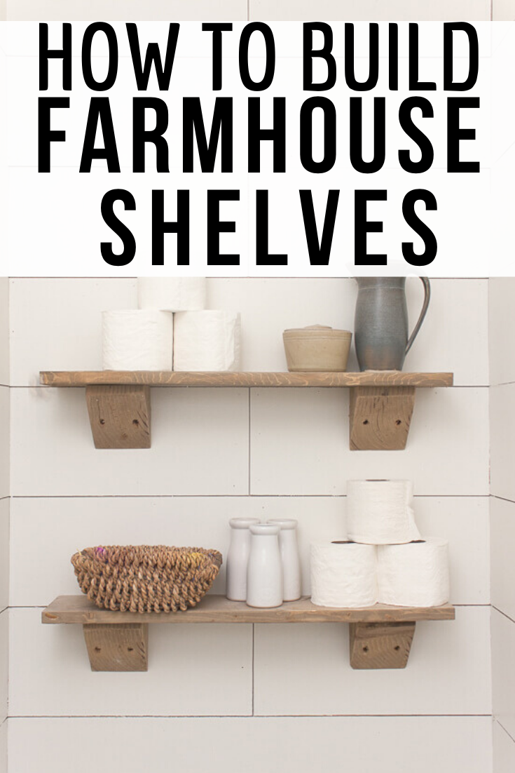 How To Make Easy Rustic Wood Shelves Shelves Wood Shelves Cool Diy Projects