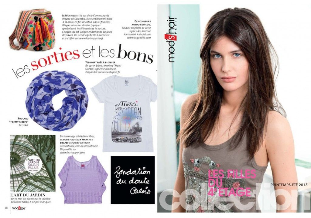 Mod's Hair magazine pick LES NGUYEN top in it shopping list