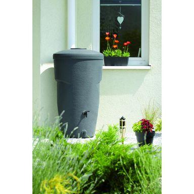 Zbiornik Na Wode Deszczowa 270 L Wallycan Antracytowy Prosperplast Zbiorniki Na Deszczowke W Atrakcyjnej Cenie W Sklepach Leroy Me Garden Trash Can Canning