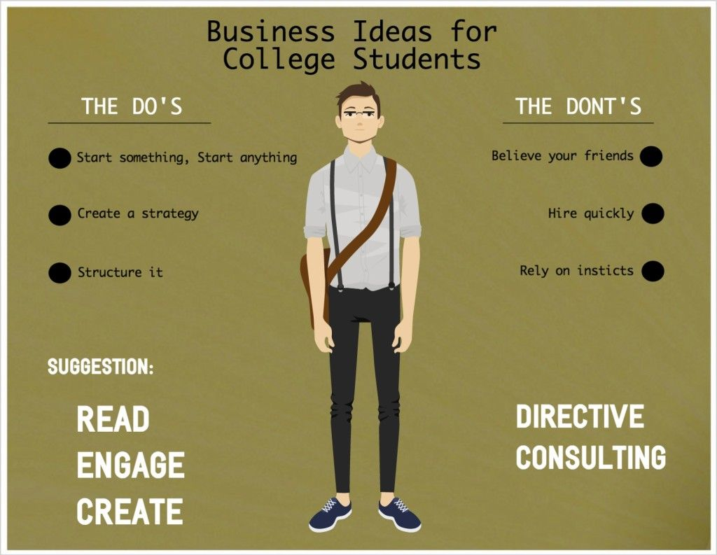 Business Ideas For College Students Dos And Donts
