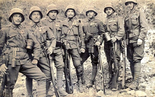 Image result for austro hungarian soldiers ww1