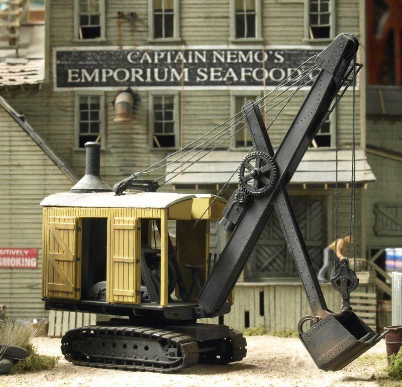 Railroad Line Forums: Railroad Line Forums - Erie B-2 Steam Shovel