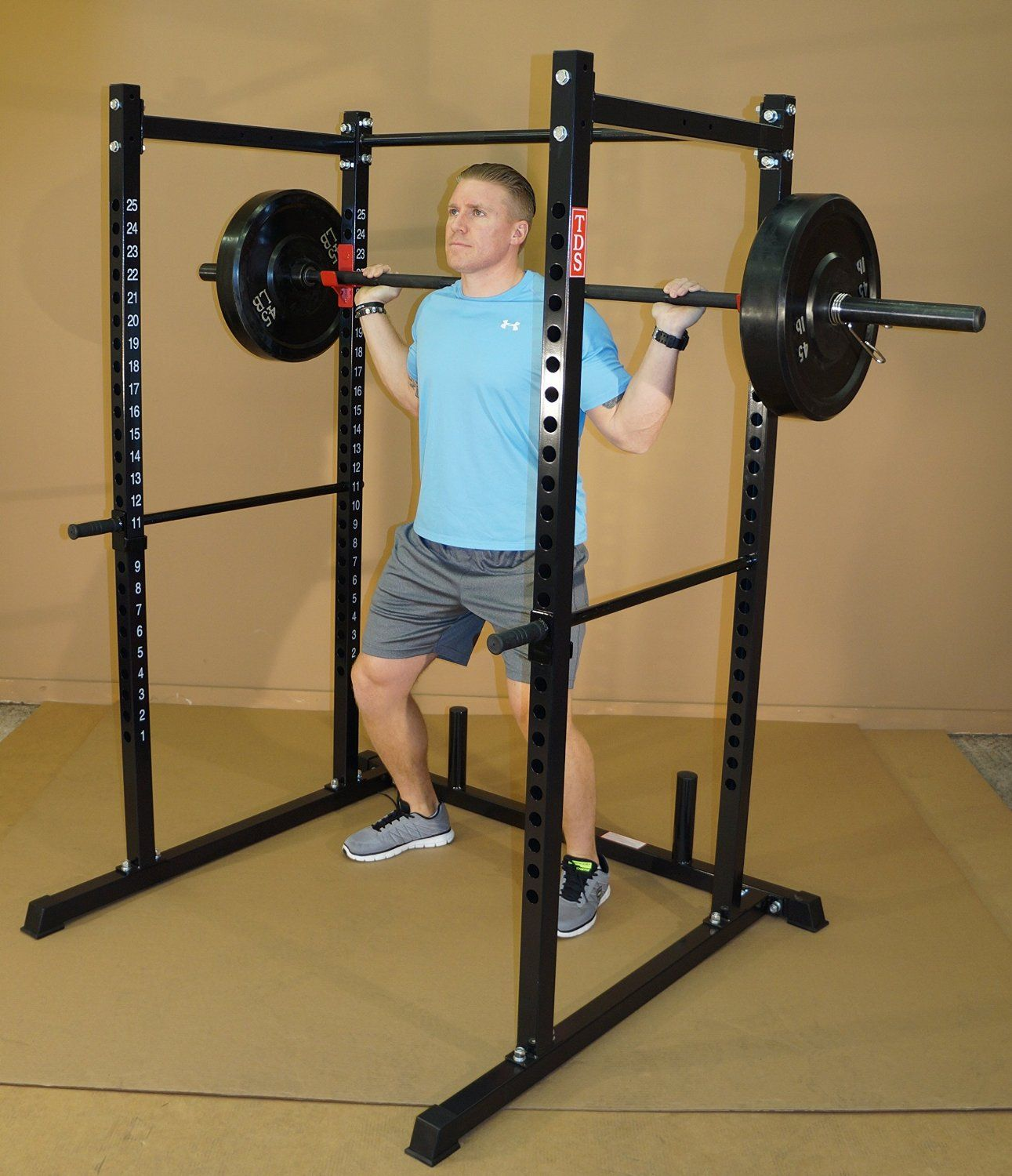 TDS Power Rack Review TDS PowerRack jhooks