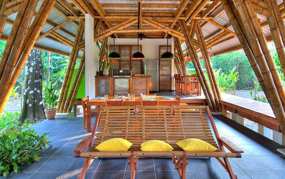 Bamboo Vacation Home Casa Atrevida Bamboo House Bamboo House