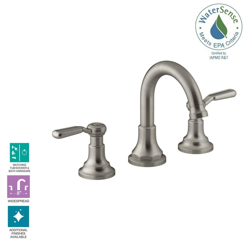 Groovy Kohler Worth 8 In Widespread 2 Handle Bathroom Faucet In Home Interior And Landscaping Transignezvosmurscom