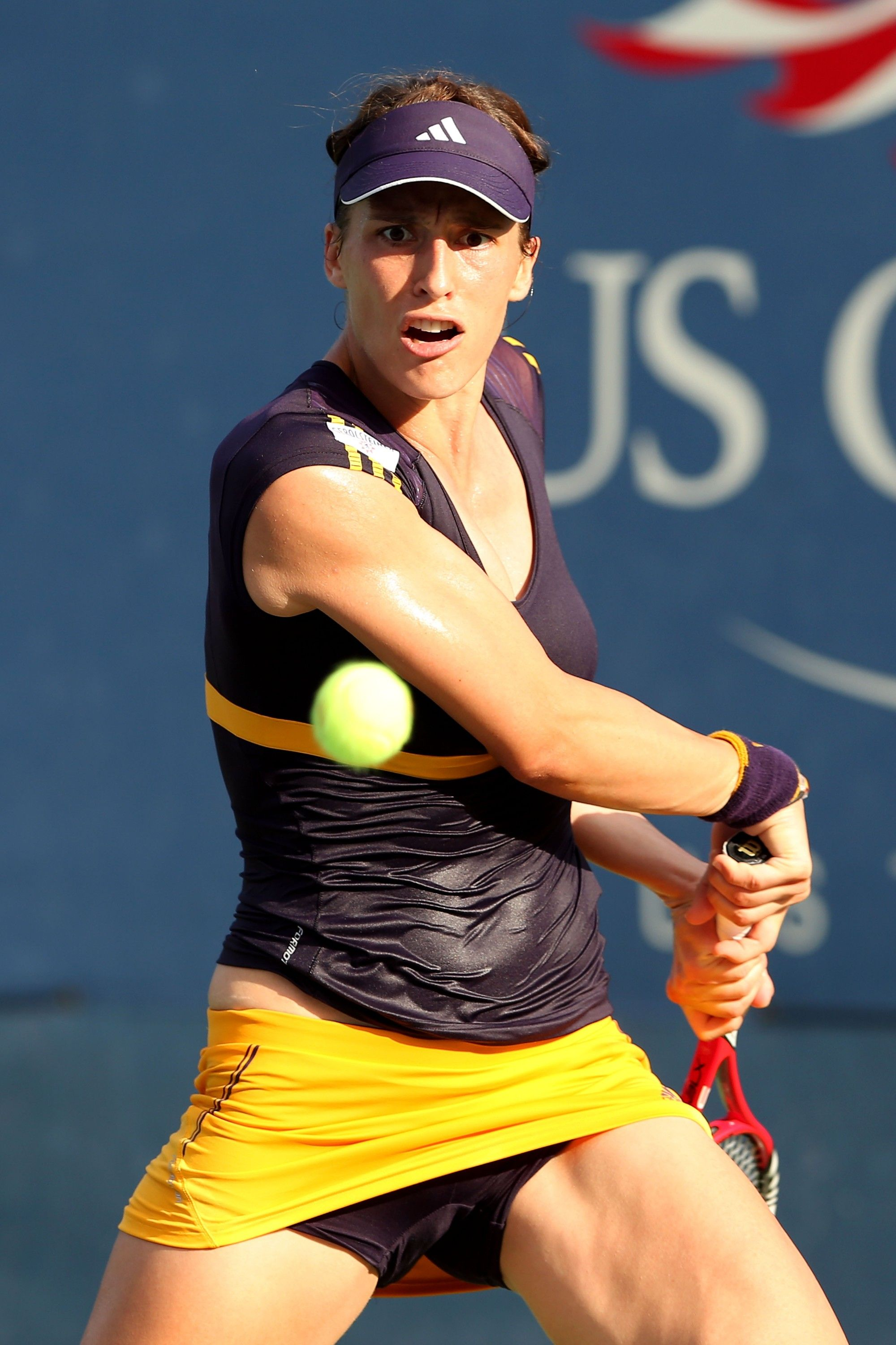Andrea Petkovic at US Open 2012 #WTA | Tennis players female, Tennis clothes, Female athletes