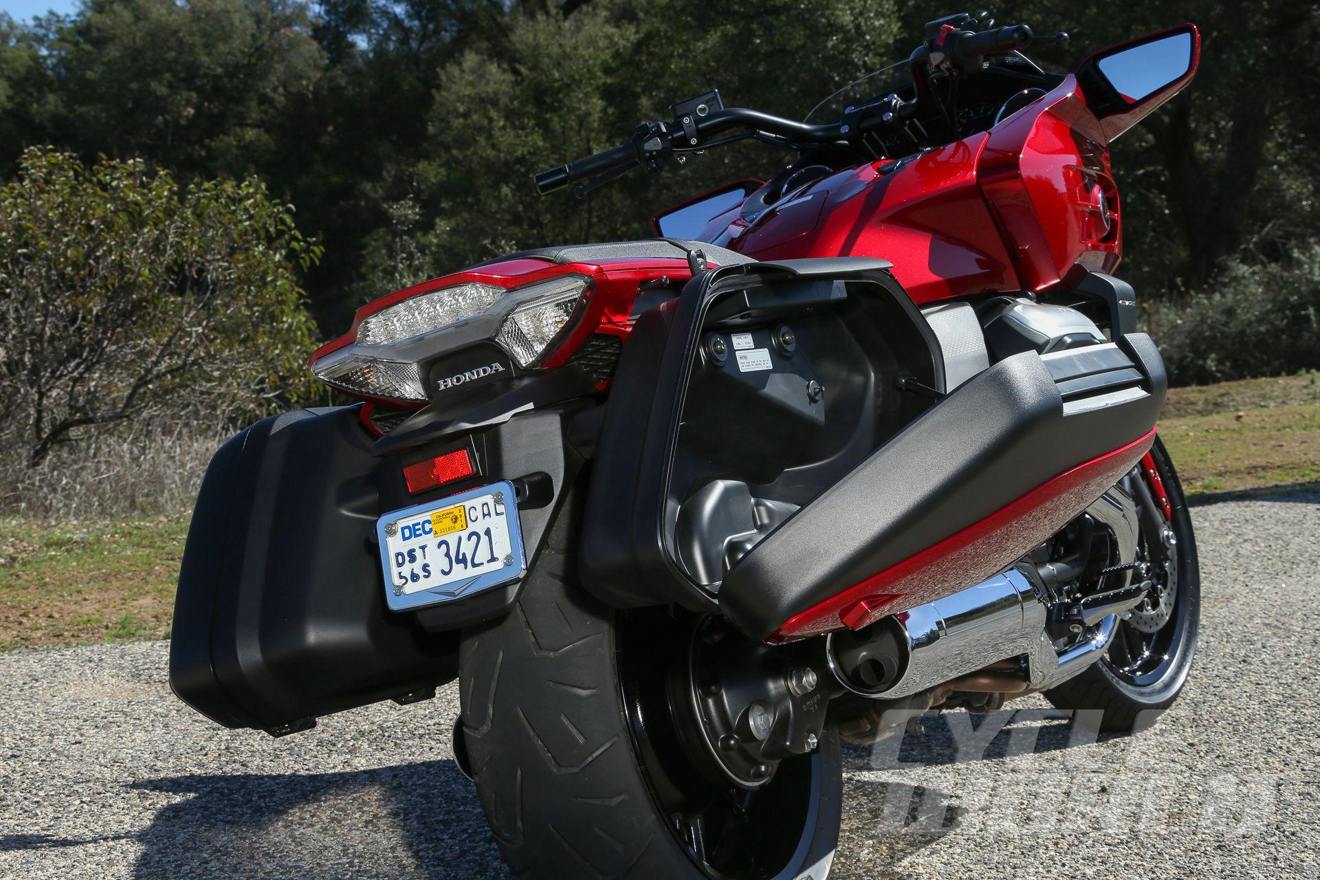 2014 Honda Ctx 1300 Saddlebags Open Rear View Touring Bikes