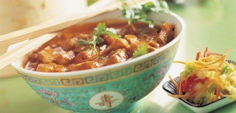 Oosterse curry, lekker