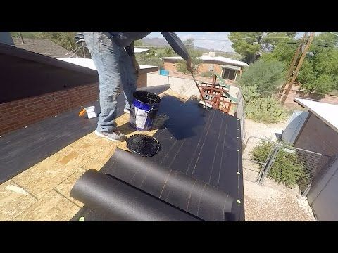 How To Apply Roofing Felt Paper