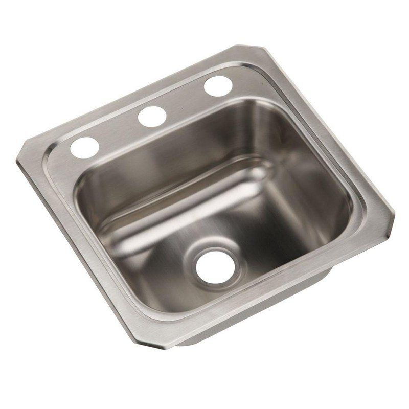 Elkay Celebrity Bcr15 Single Basin Drop In Kitchen Sink 731728