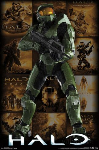 Halo - Key Art Grid Posters | For my Boys | Video game