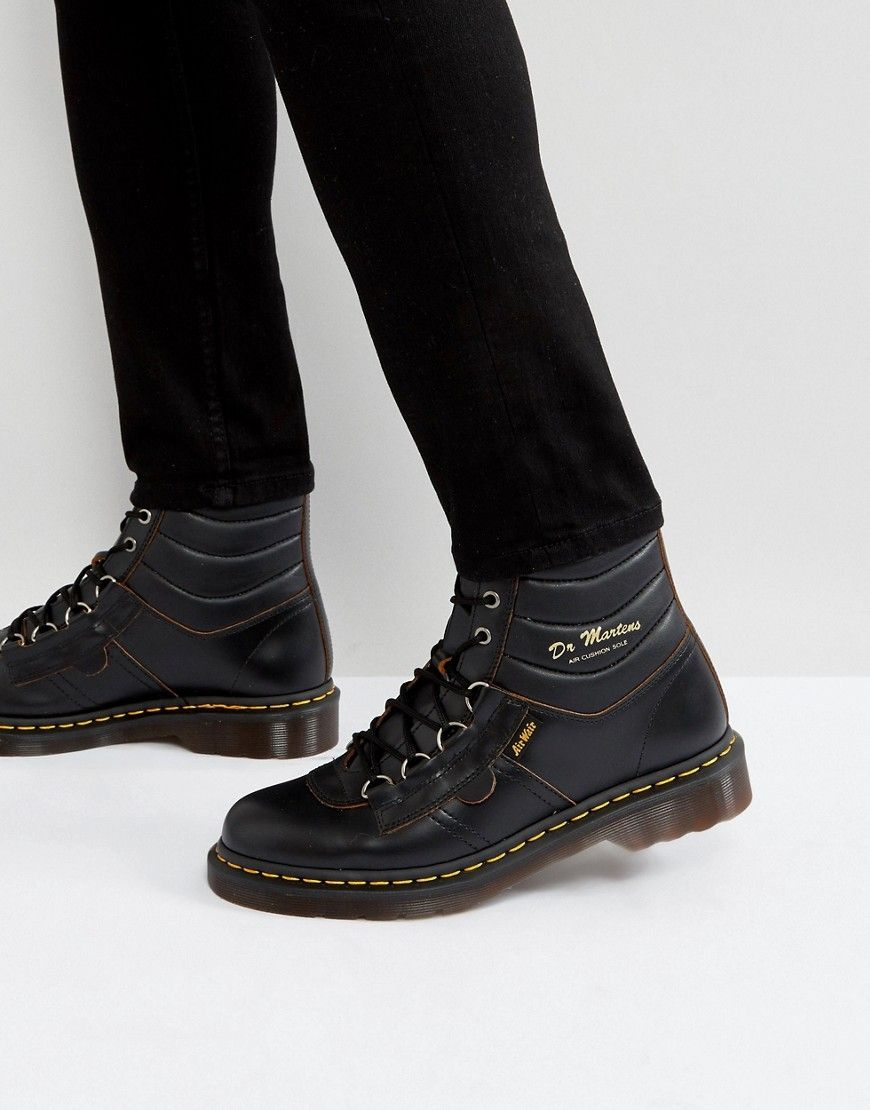 75b4d97f3f7 DR. MARTENS KAMIN HIKING BOOT - BLACK. #dr.martens #shoes # | Dr ...