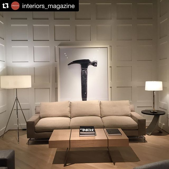 #Repost @interiors_magazine with @repostapp. At the beautiful @arudindesigns showroom at the @sfdesigncenter, a vignette with the 2743 sofa, @kavantedesign table, Tokay Floor lamp by @michaelvanderbyl for @boyd_lighting, and a blown-up image of a tool used to create A. Rudin pieces. Craftsmanship and elegance reign. #DesignSF16 #boydlighting #lighting #decorating #interiors #interiordesign #interior123 #interior125 #luxury #luxuryhome #luxuryhomes #luxurystyle #luxurydesign #handmade…