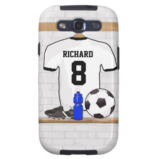 >>>Cheap Price Guarantee          	Personalised white and black football soccer Jerse Samsung Galaxy S3 Case           	Personalised white and black football soccer Jerse Samsung Galaxy S3 Case we are given they also recommend where is the best to buyThis Deals          	Personalised white and...Cleck Hot Deals >>> http://www.zazzle.com/personalised_white_and_black_football_soccer_jerse_case-179522429278854555?rf=238627982471231924&zbar=1&tc=terrest