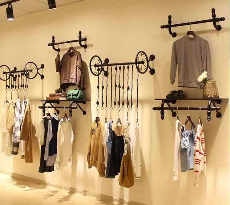 Clothes hangers for men and womens clothing display rack