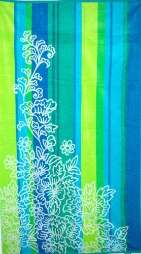 Pin By Nicole Dierks On Beach Oversized Beach Towels Floral
