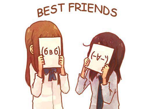 Best Friend Friend Anime Anime Friendship Anime Best Friends