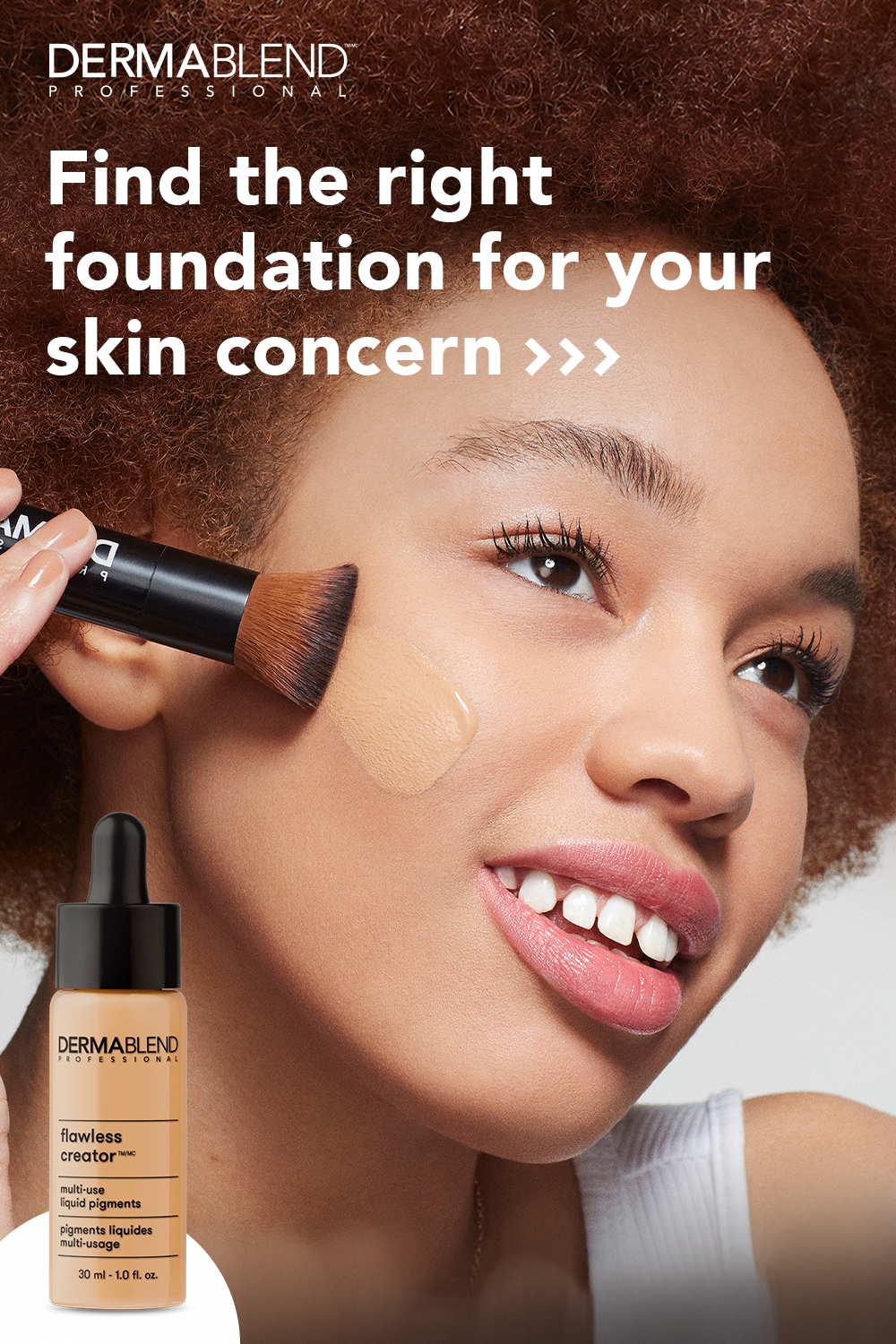 Find the right foundation for your specific skin type from
