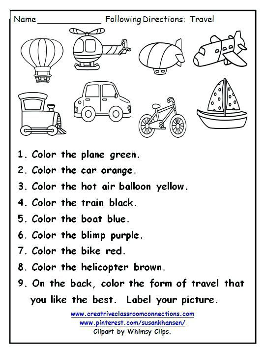 Air Transportation Worksheets For Kindergarten Download Them Or Print Transportation Preschool Transportation Worksheet English Activities