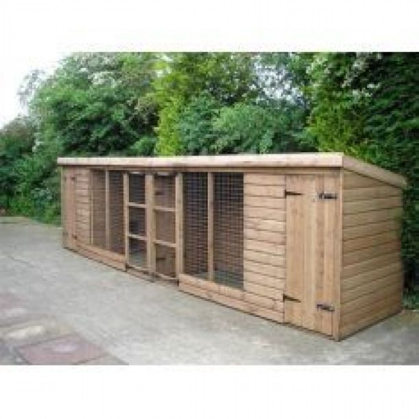The Double Frampton Dog Kennels Lincolnshire rabbithouses