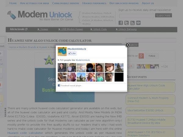 Unlock Huawei Modem, USB Modem, Unlock 3G Modem, Wireless