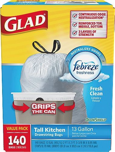 Instant Savings 3 80 Off Limit 5 Glad Odor Shield With Febreze